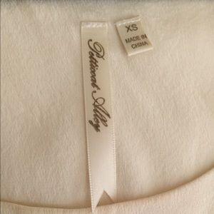 Petticoat Alley Tops - Silk Beaded Trim Top